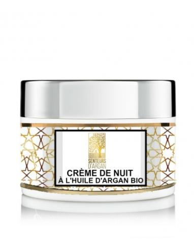 Crème de nuit à l'huile d'argan