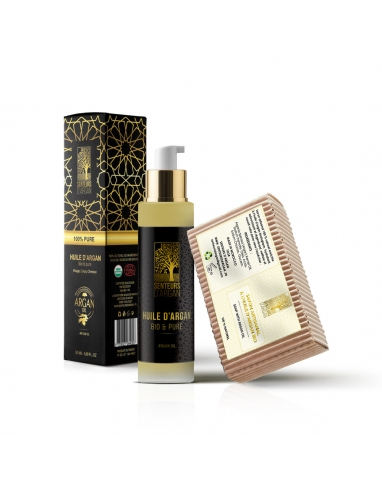 huile d'argan bio 100% pure